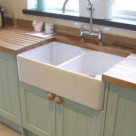 Belfast Kitchen Sinks Butler rose ceramic fireclay double belfast kitchen sink waste butler rose ceramic fireclay double belfast kitchen sink waste 800 x 500mm workwithnaturefo