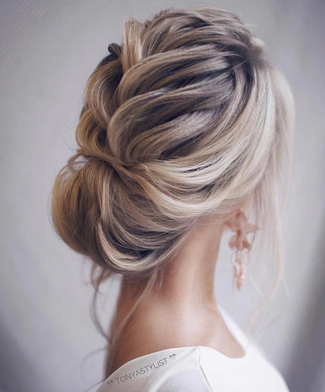32 Most Romantic Updos For Long Hair Elegant Formal Hair Long Prom Updo Wedding Longhairstyles Hair Styles Long Hair Styles Elegant Wedding Hair