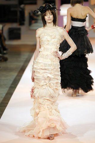 christian lacroix spring/summer 2007 couture | vestidos de novia, de