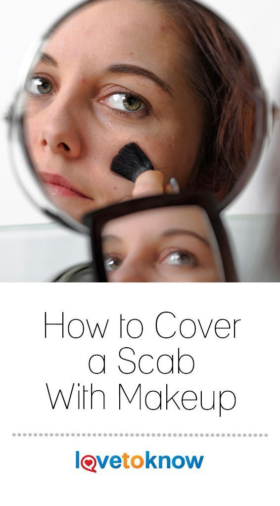Cover Scab With Makeup: Pin On Makeup-techniques