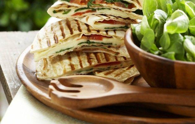 Grillatut quesadillat – pihajuhlien parhaat