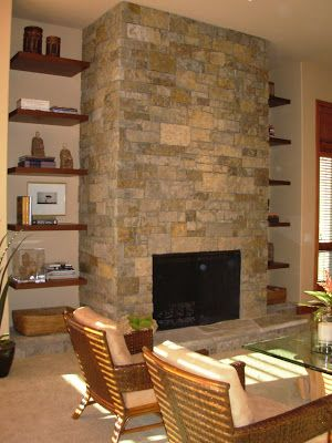 stone over fireplace | Fireplace Reno ideas | Pinterest ...