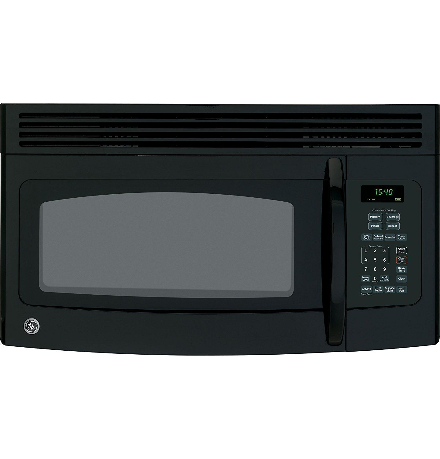 Ge Spacemaker Over The Range Microwave Oven Jvm1540dmbb Click Image To Review More Details Range Microwave Ge Spacemaker Microwave Black Microwave