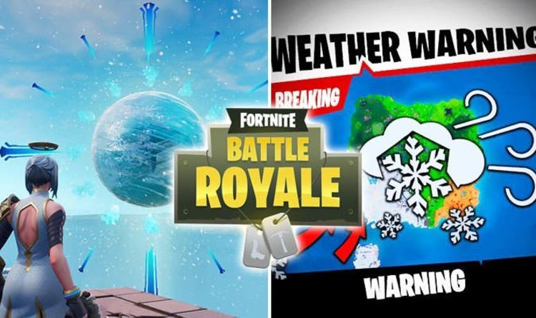 Fortnite Event Countdown Start Time Ice King Storm Sphere Twitch Live Stream Season 7 Gaming Entertainment Event Countdown Fortnite Ice King