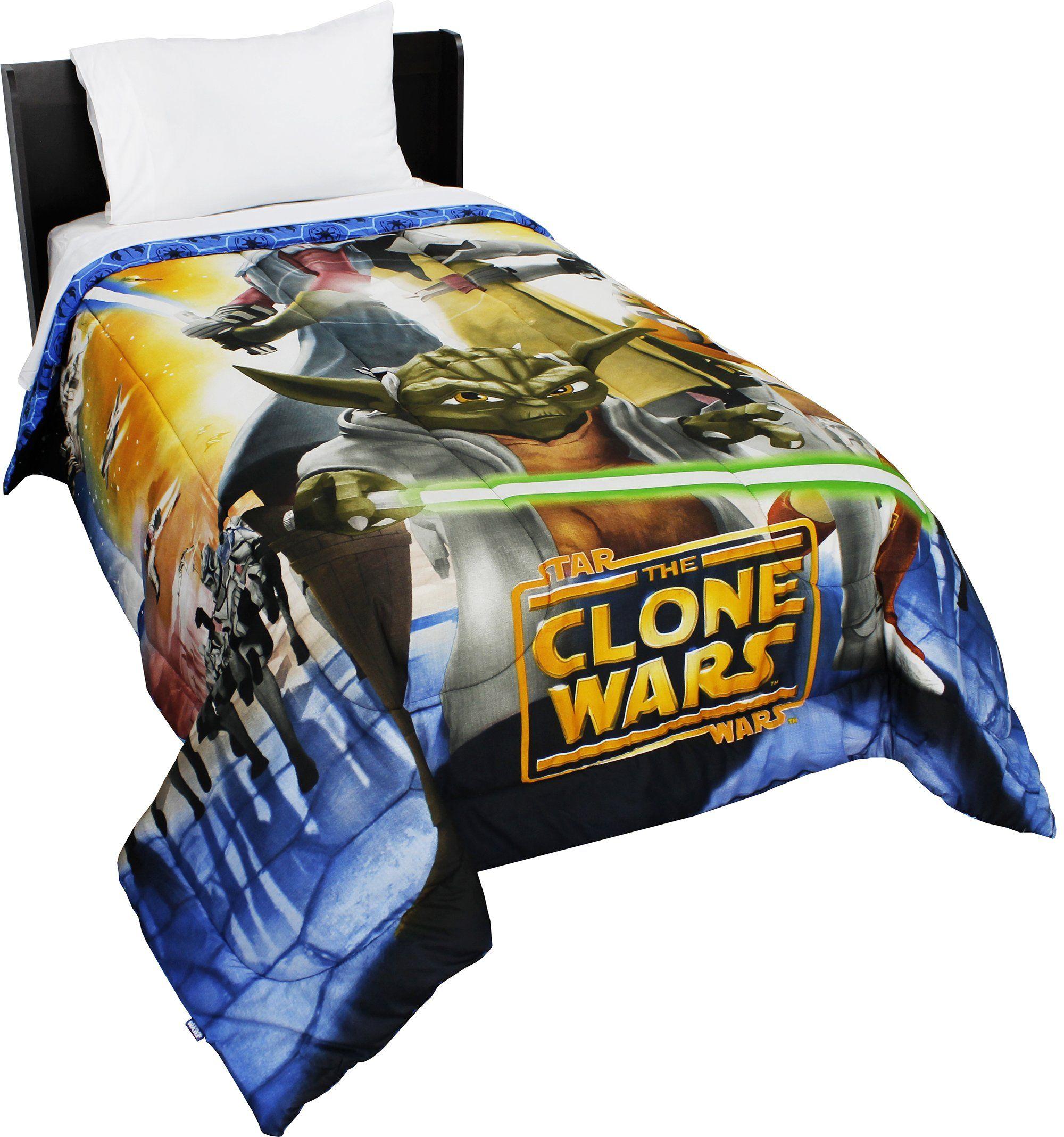 Star Wars Clone Wars Space Bed Comforter Star Wars Jedi Clone