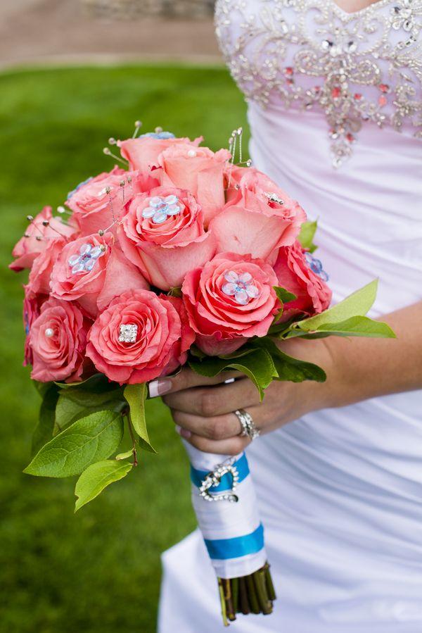 Coral, Turquoise & Grey} Summer Wedding | Summer weddings, Diy ...