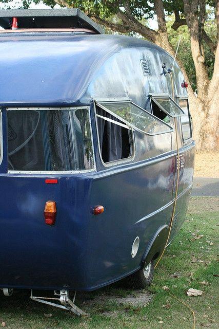 Bluetrailer Vintage Caravans Retro Caravan Vintage