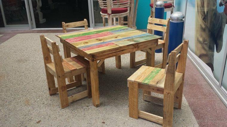 mesa para niños Proyecto muebles Pinterest Mesa para niños