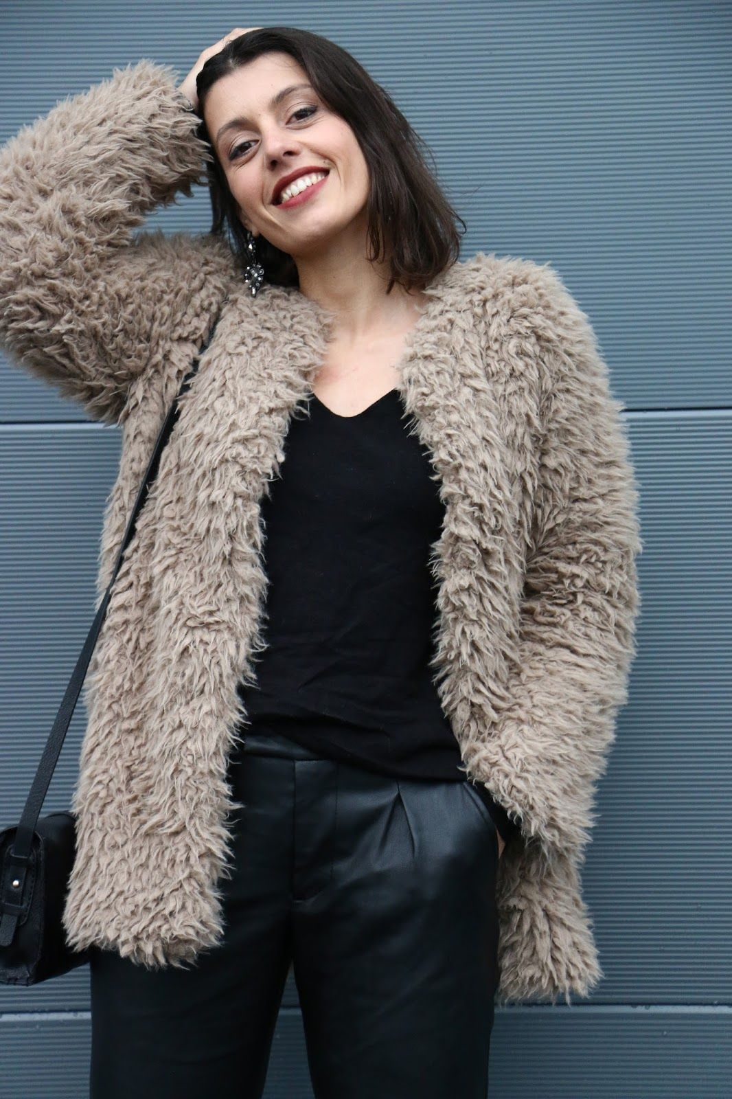 I love Fita Métrica: Fluffy Coat