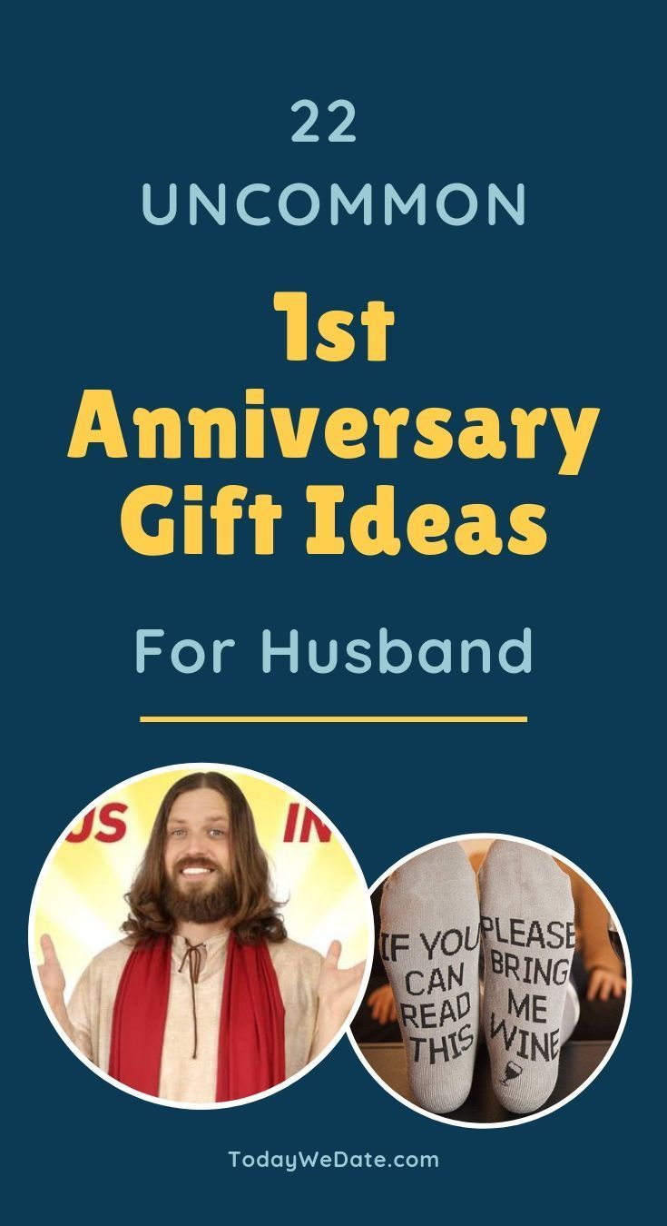 22 uncommon first anniversary gifts for him -todaywedate ...