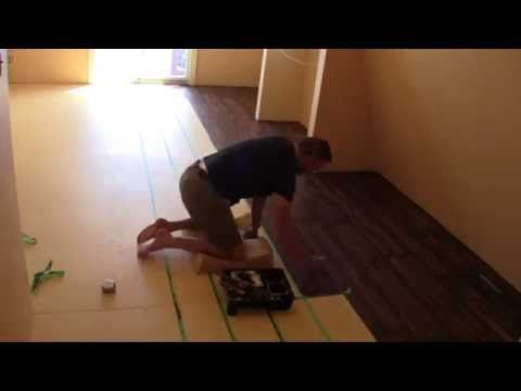 Wood Concrete - How to make concrete look like wood flooring - YouTube - Wood Concrete - How To Make Concrete Look Like Wood Flooring