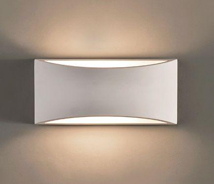 Iluminacion Daviu Aplique 1 Luz Blanco 1l Apliques De Pared Espejos En La Sala Decoracion Sala Comedor