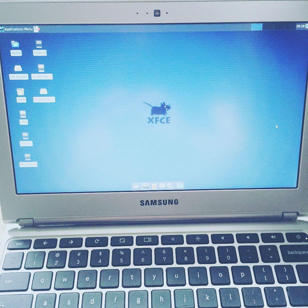 samsung how chromebook to ubuntu on