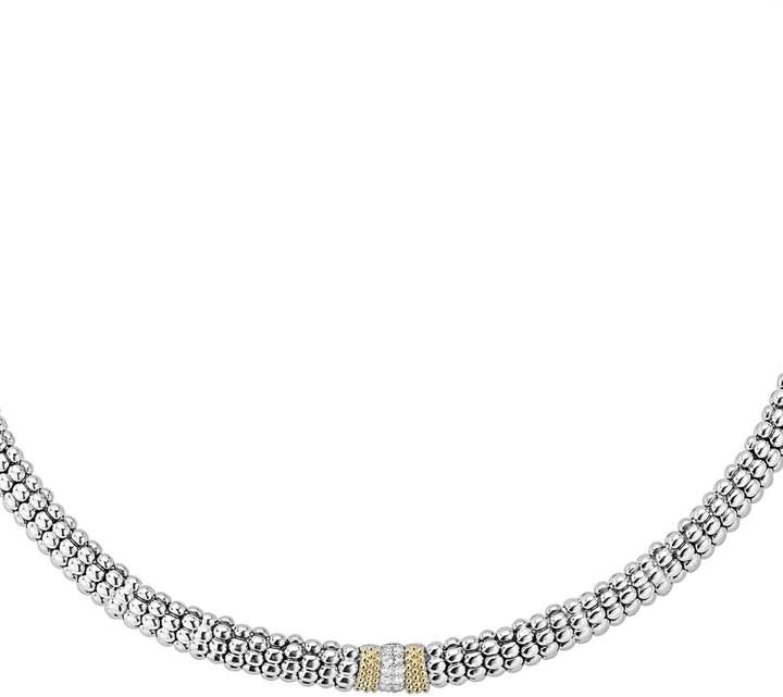 Italic Name Necklace ELISA Silver Tone