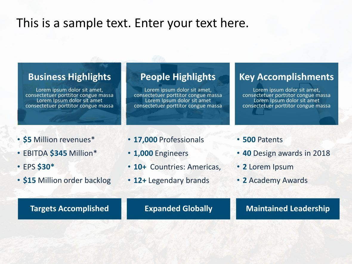 Business Review Powerpoint Template 2 Business Reviews