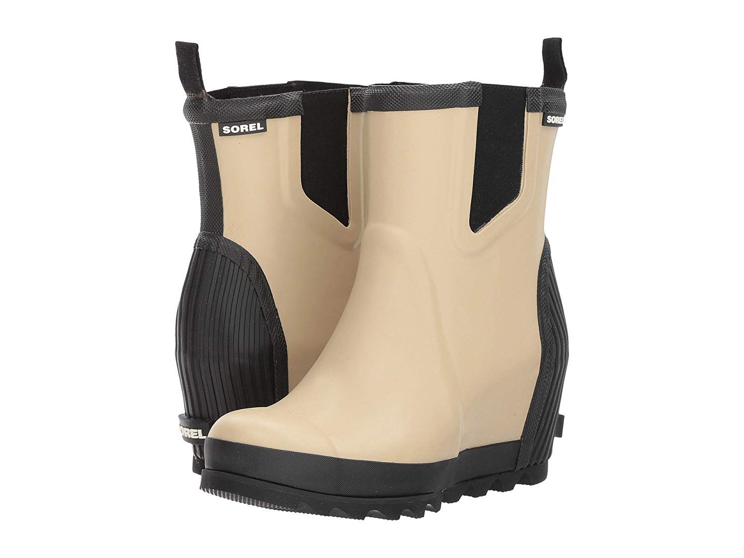 84b997b5735 Sorel Womens Joan Rain Wedge Chelsea   Many thanks for seeing our picture.  (This is our affiliate link)  womensmidcalfboots