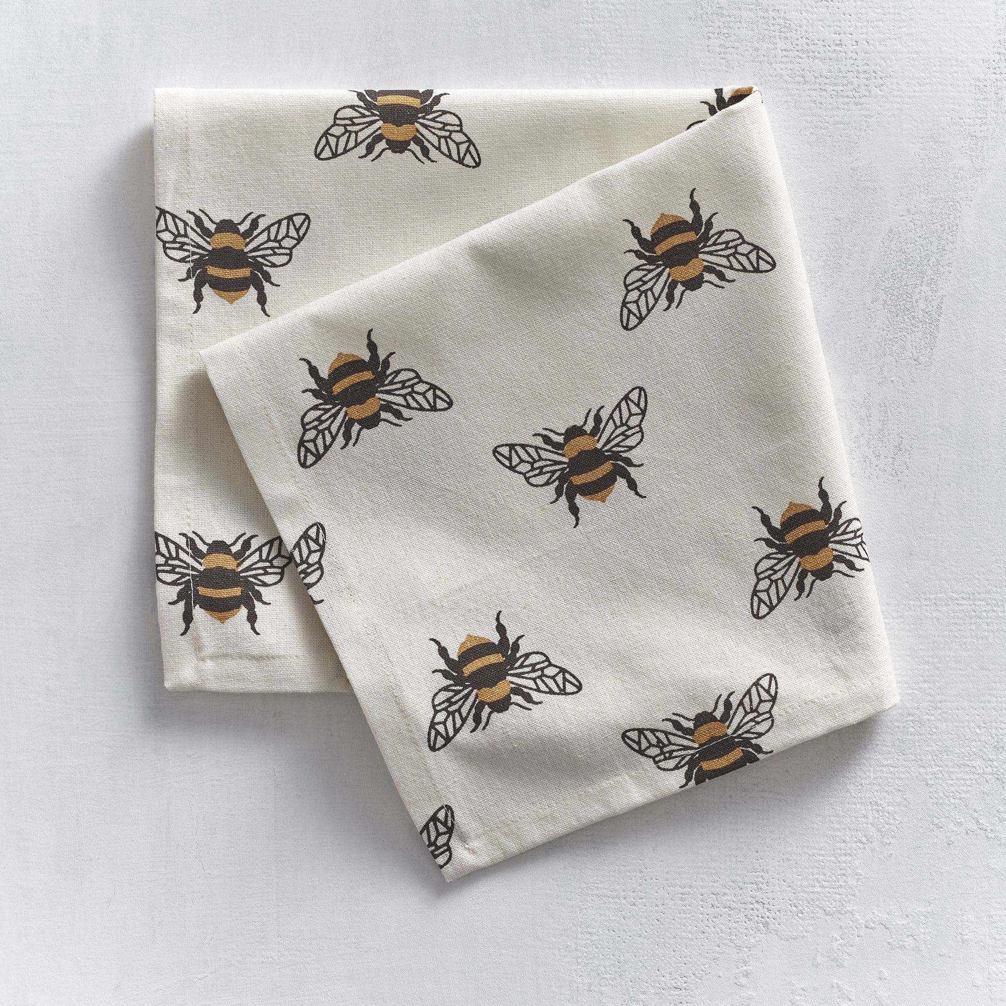 Buzzy Bee Cloth Napkins