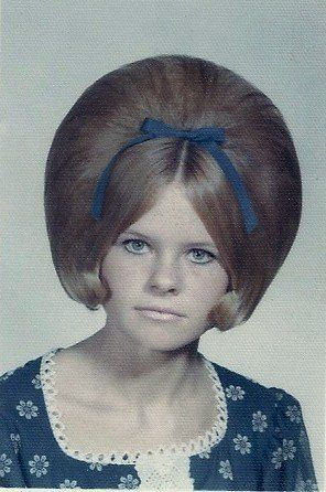 hair on pinterest big hair helmets and 1960s a girl with big hair in 1969 helmets girls and school