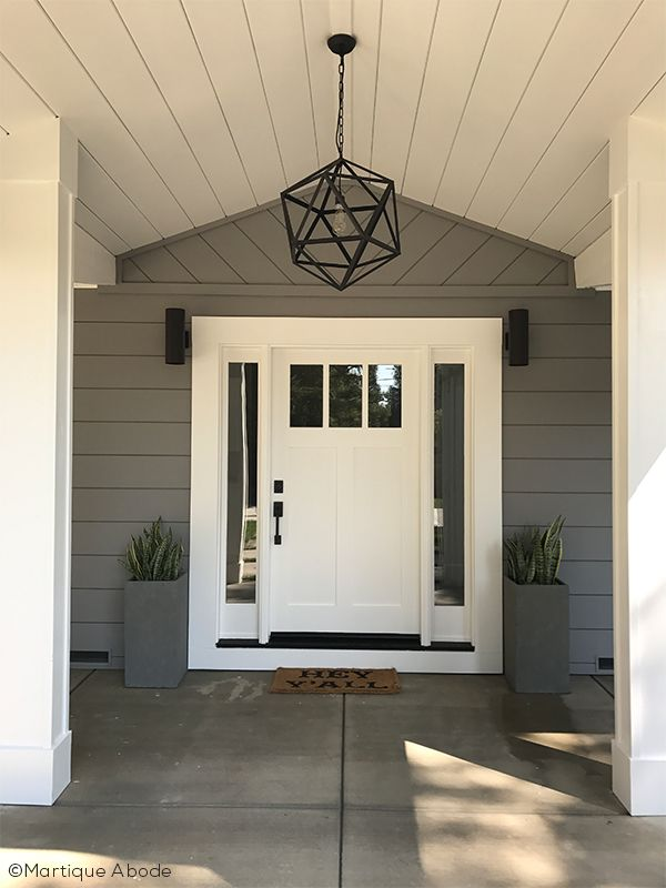 White Front Doors Can Be The Perfect Touch To Your Modern Entry