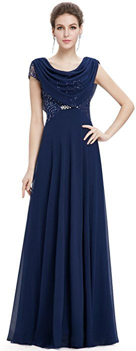 Ever Pretty Elegant Sequined Long Formal Evening Dress 10 ...
