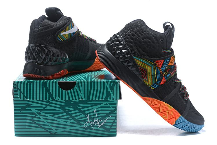 buy popular c434f 219ab Chaussures de mode Nike Kyrie S1 BHM Multi Black04