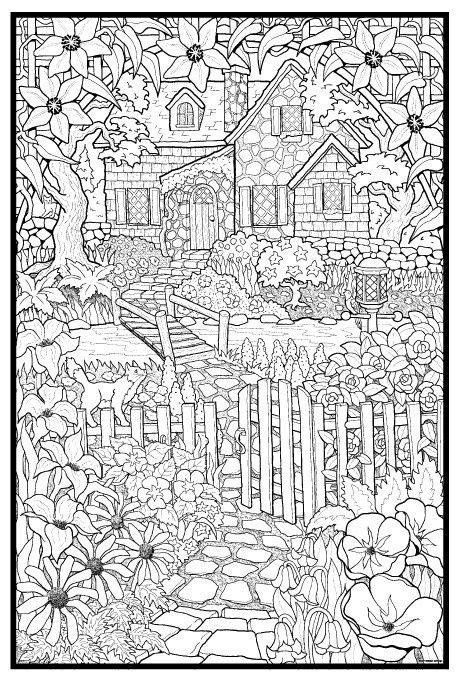 8 Best Images Of Printable Coloring Pages Doodle Art