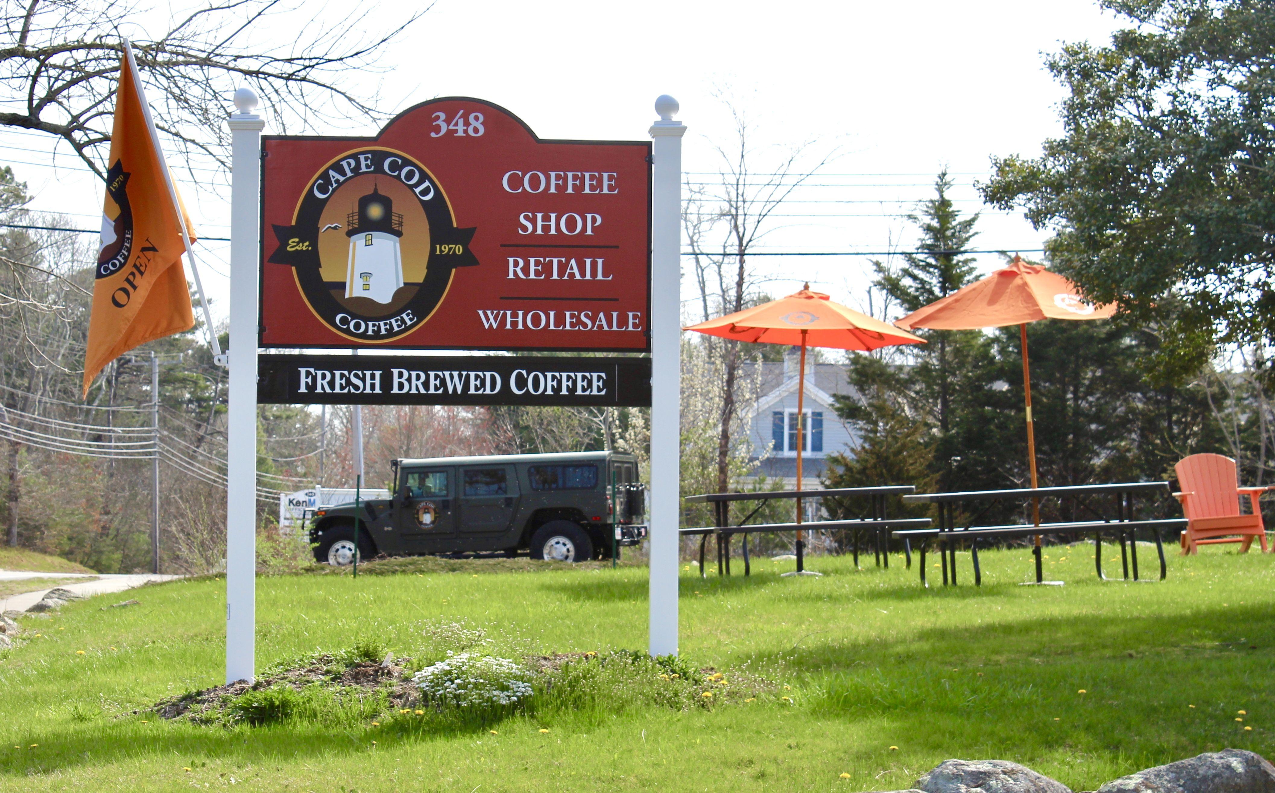 Cape cod coffees roasting facility in mashpee great