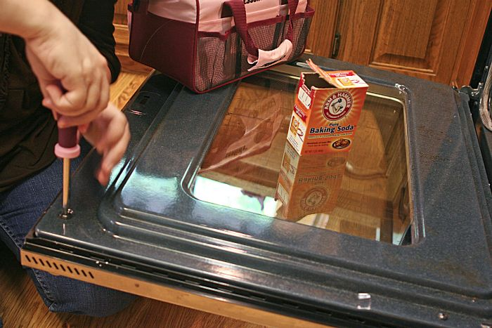 Elegant How To Clean Glass Oven Doors