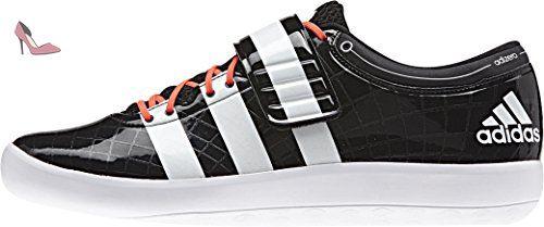 timeless design 987fe 8a819 Adidas Adizero Shot Put II Throwing Chaussure - SS15 - Noir - Taille 45 1