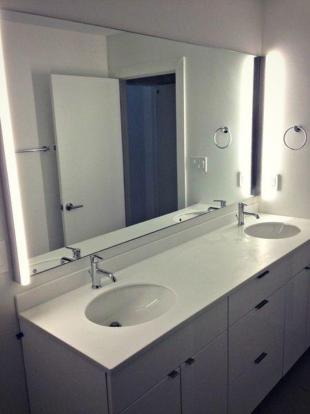 Chevy Chase Mirror Frameless, Vanity Mirror Frameless