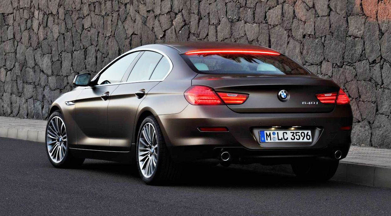 BMW Gran Coupe Four Door Joins 6 Series Range