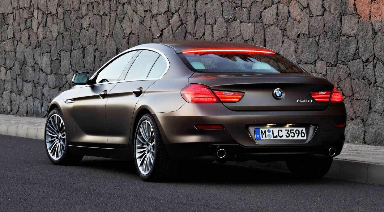 BMW Gran Coupe Fourdoor Joins 6 Series Range Reviews