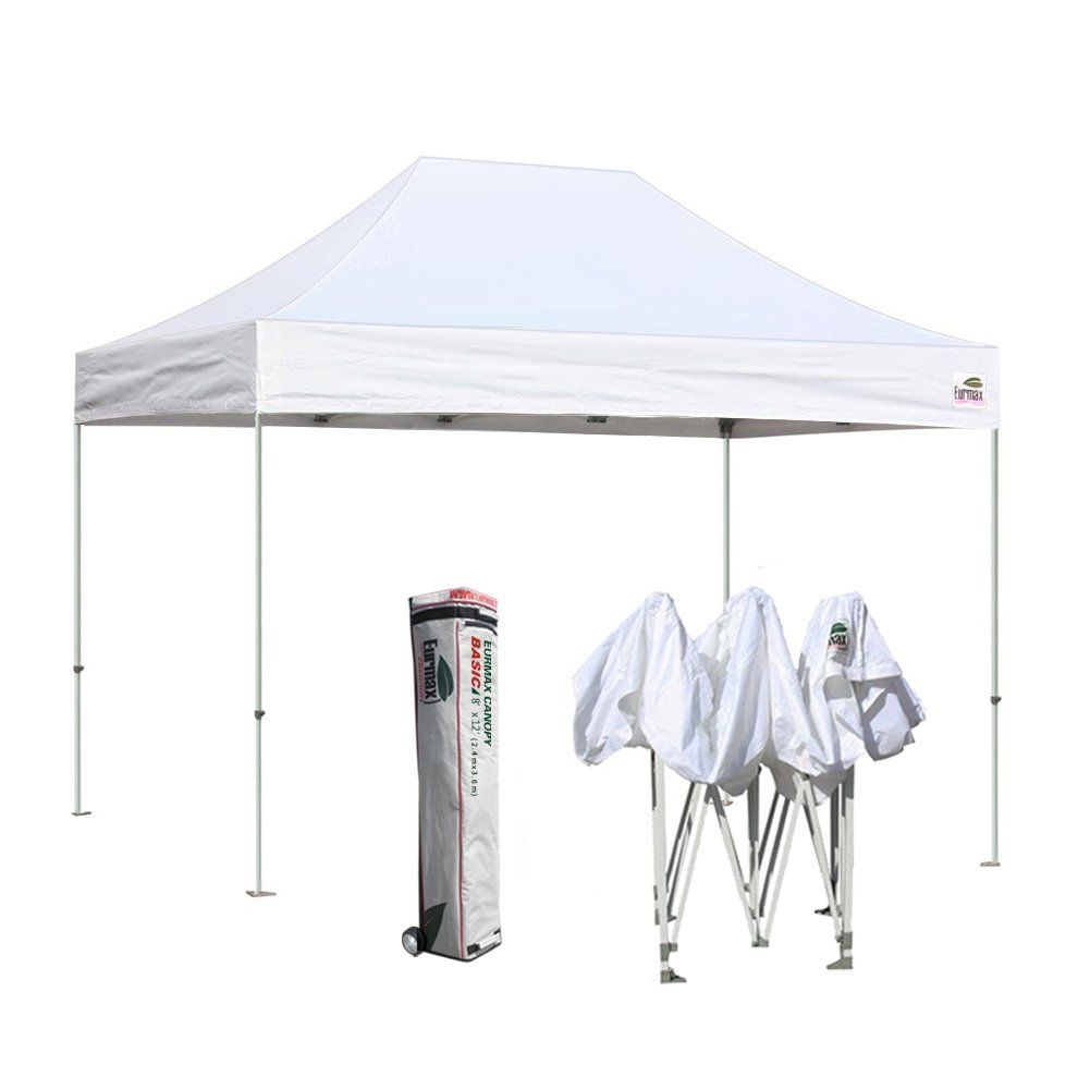 eurmax basic 8 x 12 ez pop up canopy party tent commercial level rh pinterest com