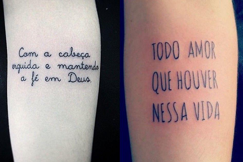 23 Tatuagens Com Letras De Música Para Você Se Inspirar E Se