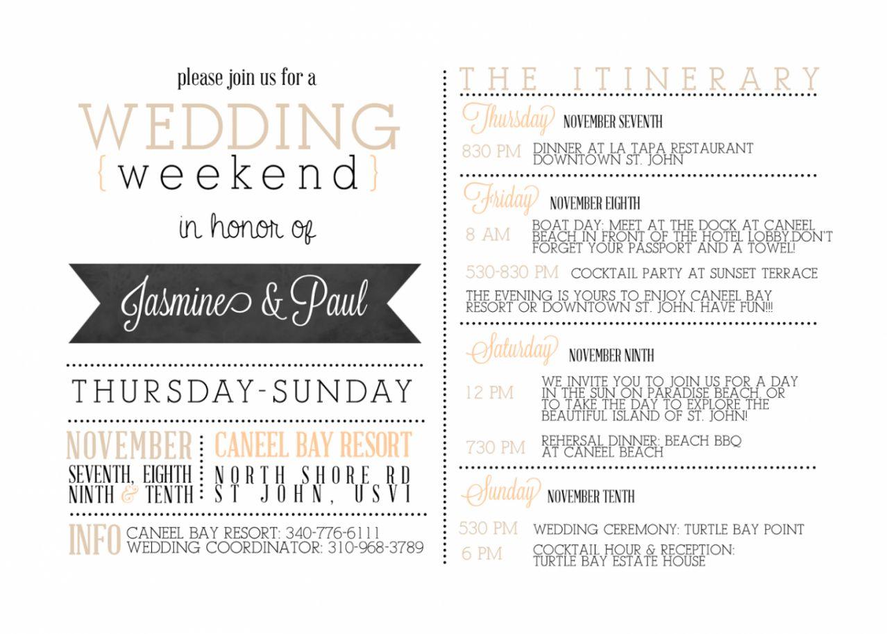 Destination Wedding Weekend Itinerary Template Sample Wedding Day Itinerary Template In 2020 Wedding Itinerary Template Destination Wedding Itinerary Wedding Itinerary