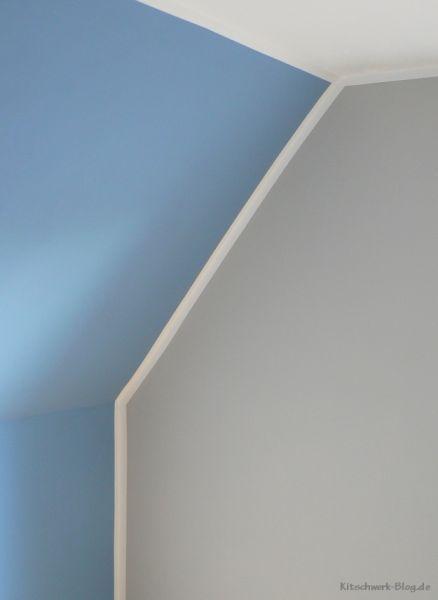 Hier Findet Ihr Eine Anleitung Wie Ihr Mit Hilfe Von Weißen Farbstreifen Wände  Farbig Streichen Könnt