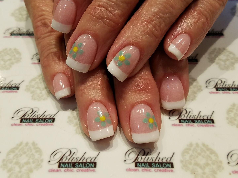 Spring French Dip for #maniMonday #manicureMonday #polishedDip ...