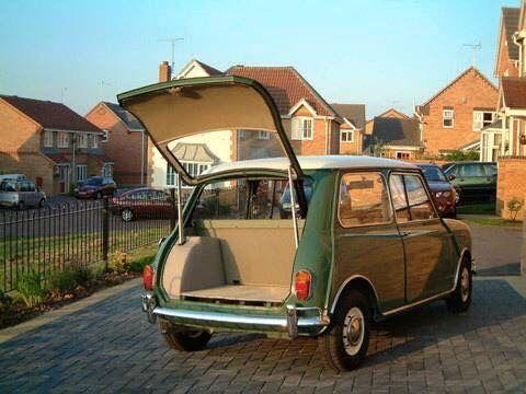 Back Door Mini Cooper Classic Classic Mini Mini Clubman