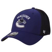 63338ffe3 Vancouver Canucks Five Hole Stretch Fit Cap  The Five Hole Stretch Fit Cap  by 47