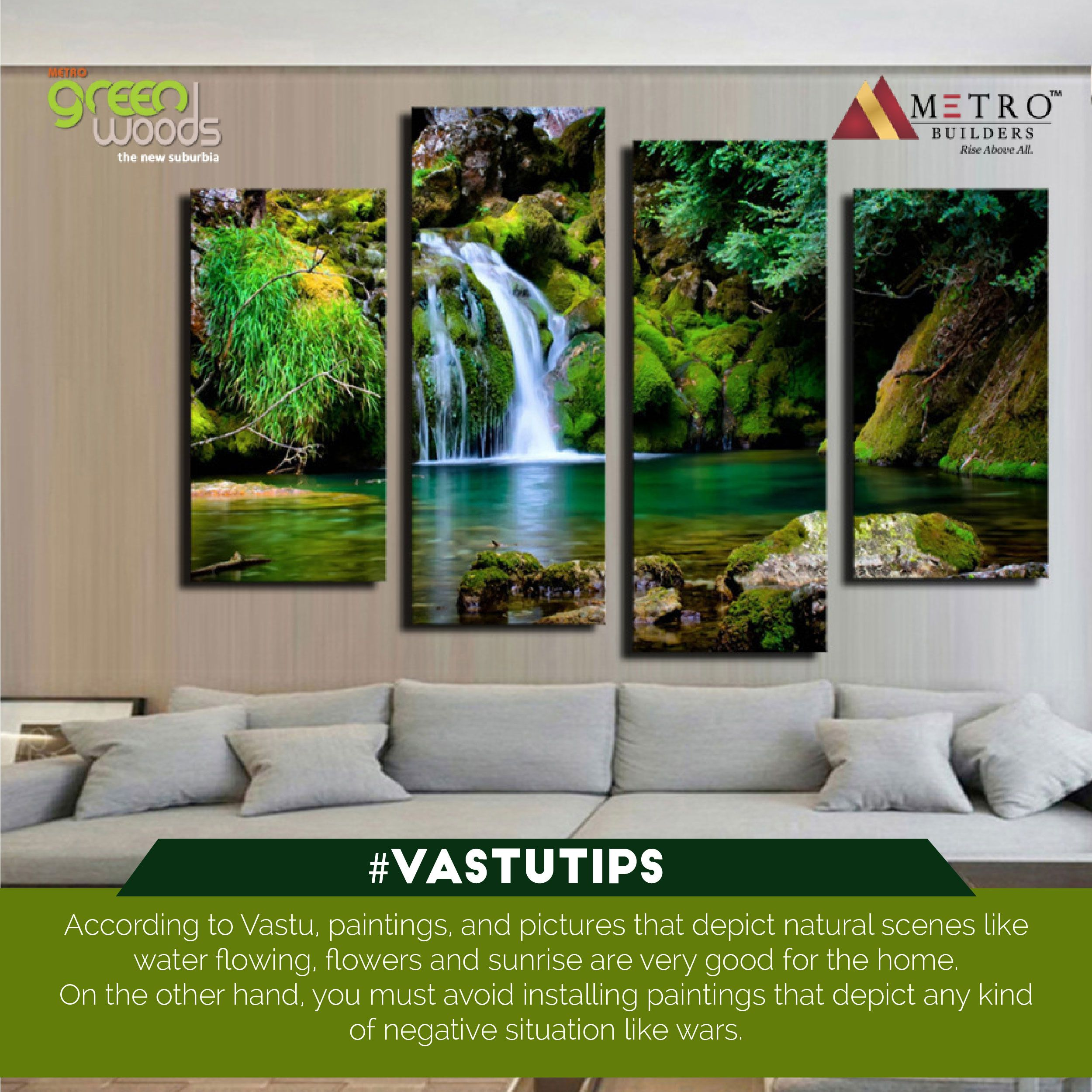 According To Vastu Paintings And Pictures That Depict Natural