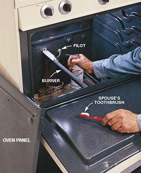 How To Repair A Gas Range Or An Electric Range Stove Repair