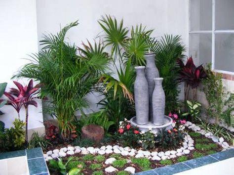 10 jardines pequeños | jardin | Pinterest | Patio pequeño, Ideas ...
