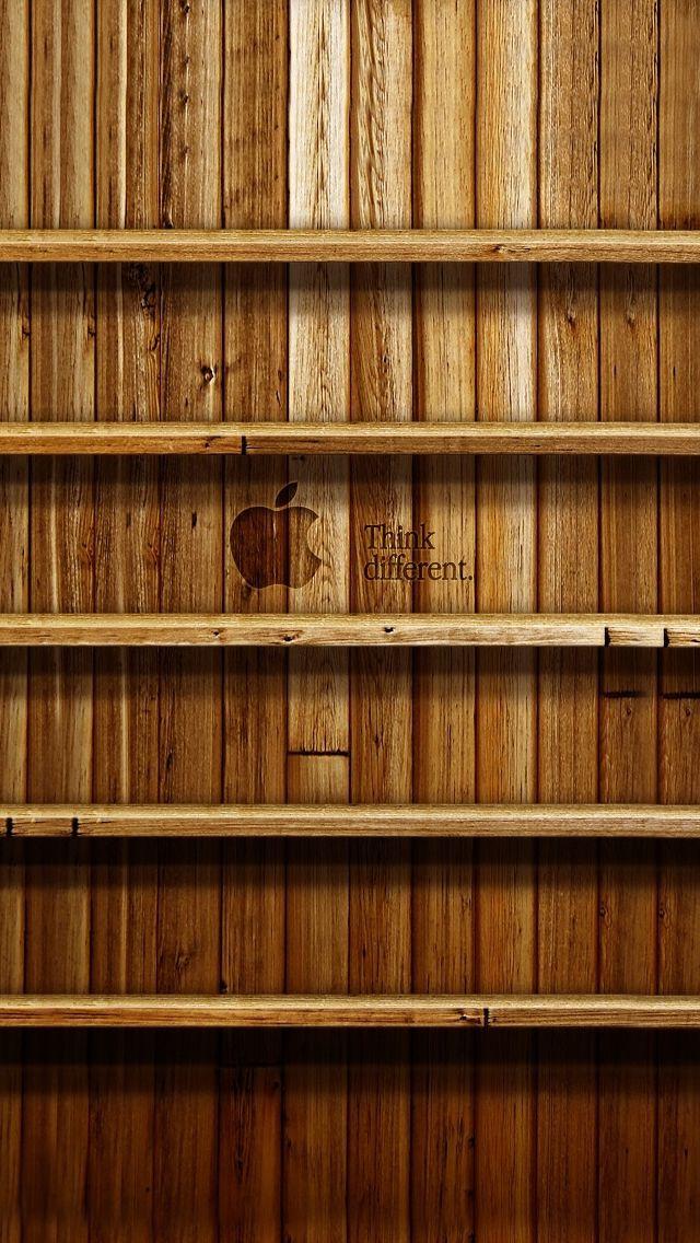 Bookshelf Ios7 Wallpaper IPhone 5s