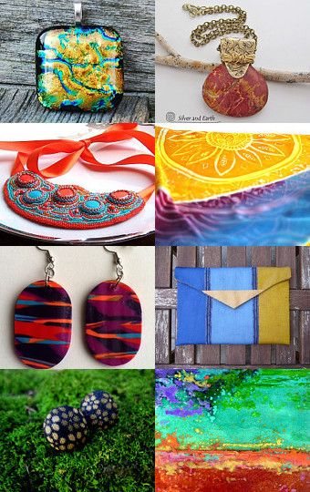 Bold and beautiful colors by Shelby on Etsy--Pinned with TreasuryPin.com
