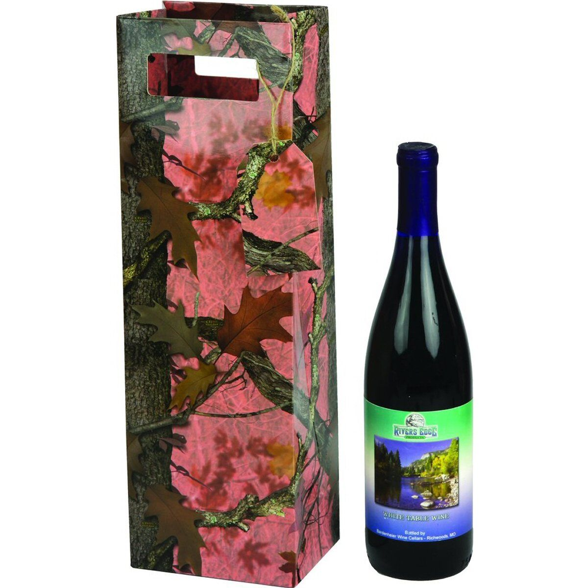 Pink Camo Single Bottle Gift Bag Wine Bottle Gift Bag Wine Bottle Gift Bottle Gift