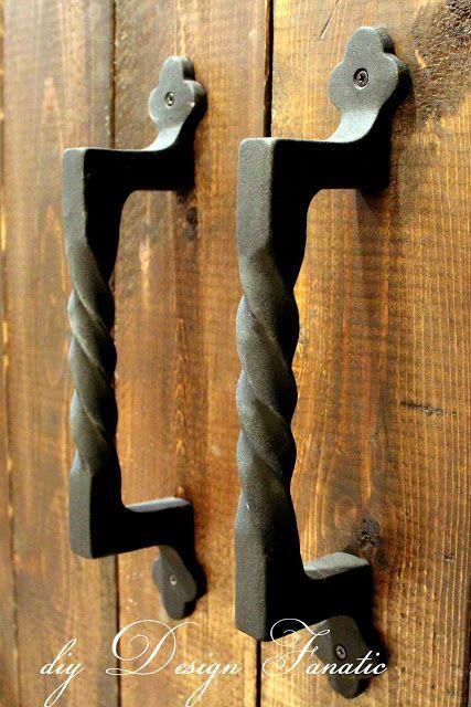 Diy Design Fanatic Barn Doors Completely Finished Barn Door