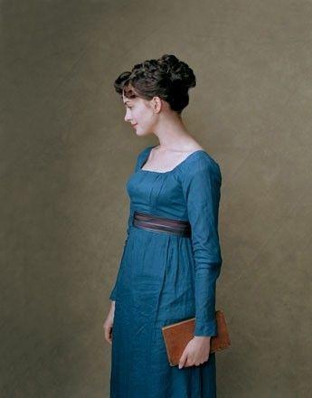 CUSTOM Silk Jane Austen Style Gown with sash CUSTOM | Jane Austen ...