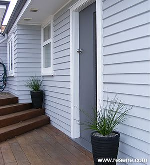 A bright clean refreshing look for the exterior of a 1960s - Bright paint colors for exterior house ...