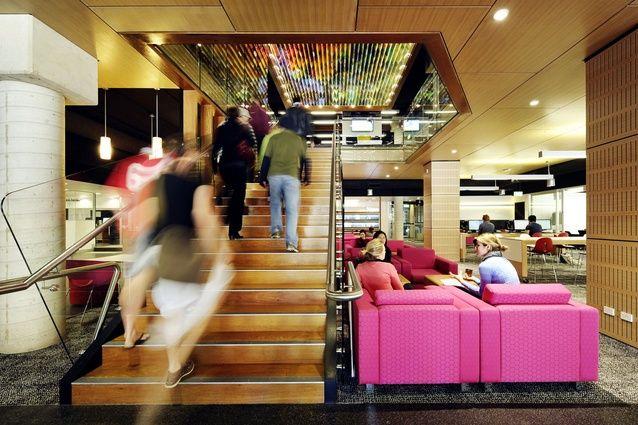 QUT Kelvin Grove Library Interiors