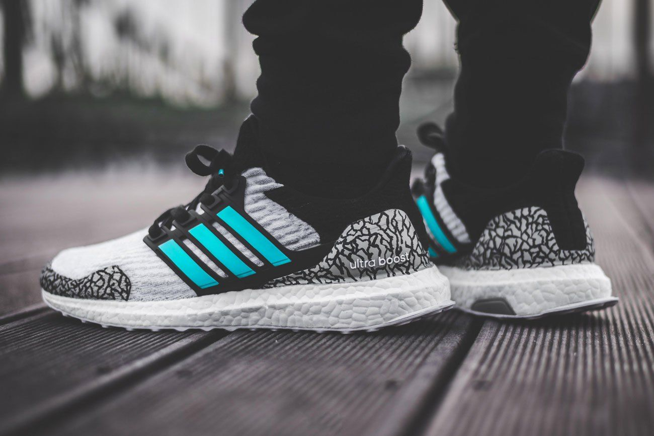 huge discount 2595d 2fee8 This adidas UltraBOOST Custom Features an Impressive atmos ...